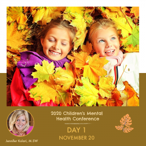 Online Children's Mental Health Conference – Friday, Nov 20, FULL DAY PASS (CAD)